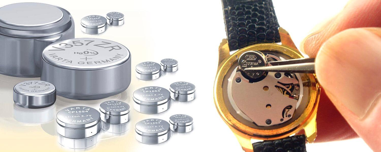 pin đồng hồ