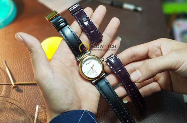 Thay dây da đồng hồ