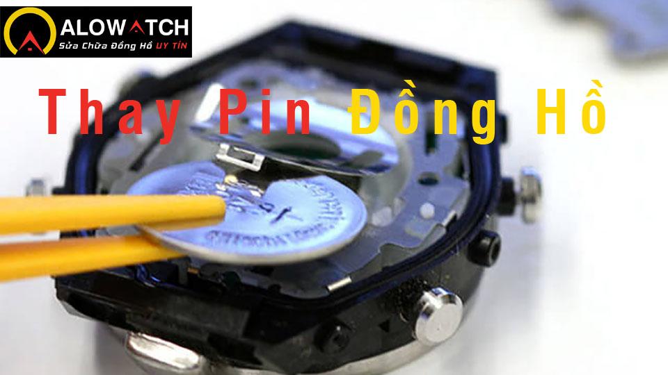 Thay pin đồng hồ G-shock