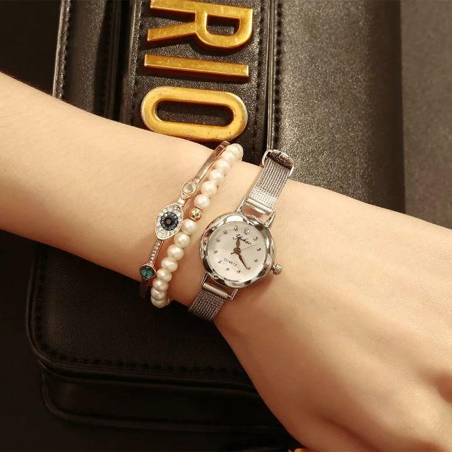 đồng hồ dây thép nữ