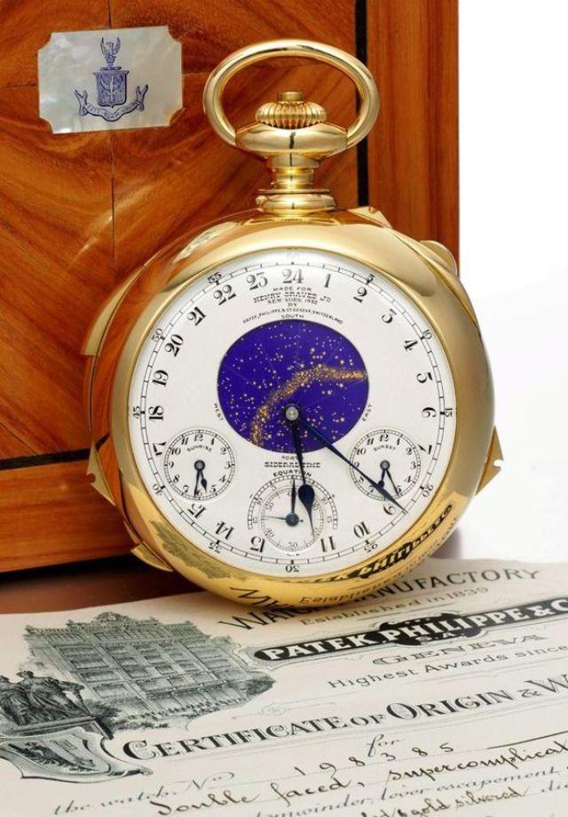 Đồng hồ The Henry Graves Jr. Supercomplication
