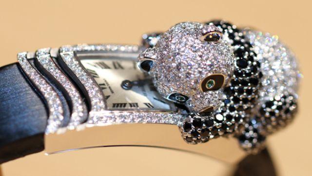 đồng hồ Cartier Secret, Phoenix Decor