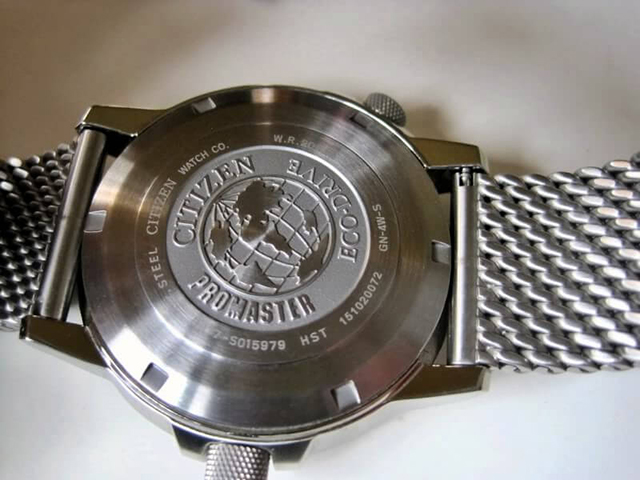 cách nhận biết đồng hồ Citizen 6