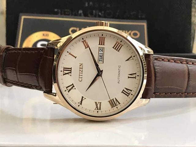 cách nhận biết đồng hồ Citizen 8